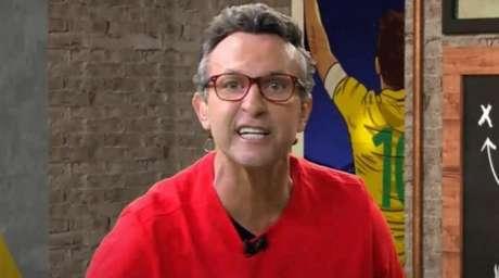 Neto é apresentador do 'Os Donos da Bola', da Band (Foto: Reprodução/Band)
