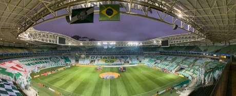 (Foto: Reprodução/Twitter Palmeiras)