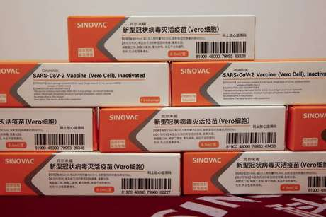 Vacina Coronavac foi desenvolvida pelo laboratório chinês Sinovac