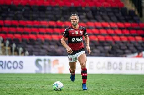 Diego entrou no segundo tempo da derrota do Flamengo para o Ceará no Maracanã