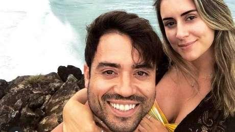 Elton Gonçalves Campelo e Isabela Valença em post nas redes sociais