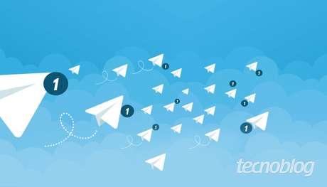 Como desabilitar a chuva de notificações - contatos no Telegram. (Imagem: Tatiana Vieira/Tecnoblog)
