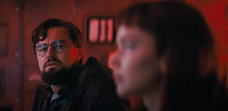 Leonardo DiCaprio e Jennifer Lawrence em Don't Look Up; comédia original Netflix será lançada em 2021