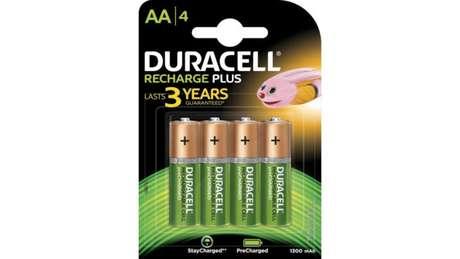 Sim, a Duracell também vende pilhas recarregáveis