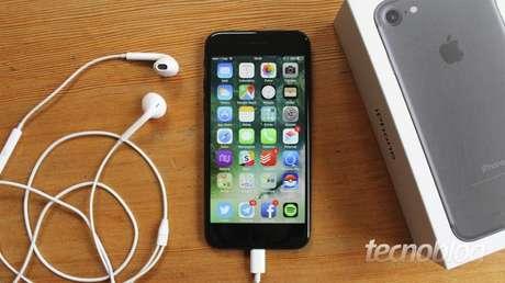 iPhone 7 (Imagem: Tecnoblog)