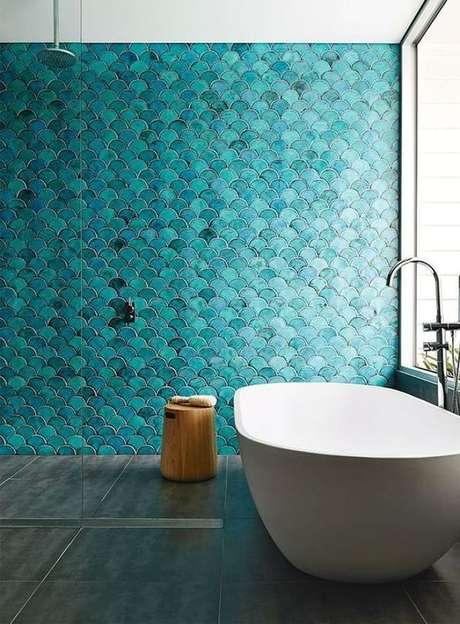 13. Revestimento azul turquesa – Via: Niina Secrets