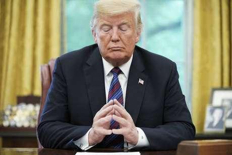Trump se tornou o primeiro presidente da história dos EUA a sofrer dois processos de impeachment