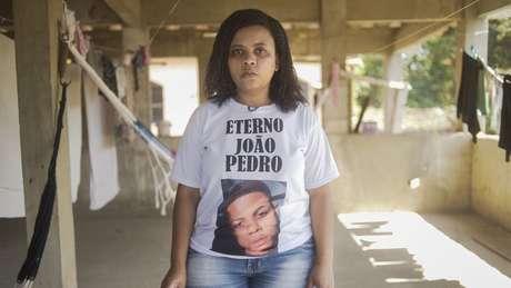 O filho da professora Rafaela Coutinho Matos, João Pedro, foi morto pela polícia aos 14 anos