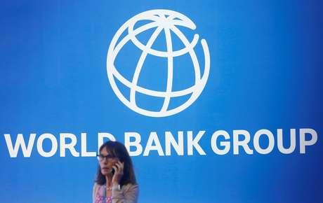 Logo do Banco Mundial em conferência em Bali, Indonésia  12/10/2018 REUTERS/Johannes P. Christo