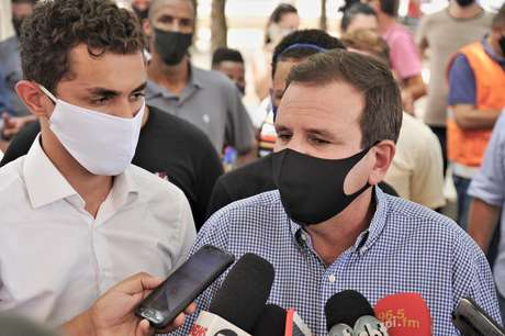 Eduardo Paes, prefeito do Rio de Janeiro, defendeu a volta do público aos estádios