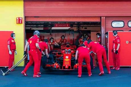 Ferrari vive má fase na Fórmula 1 (Divulgação / Ferrari)