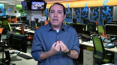 Carlos Cereto detonou apresentação do Alviverde em semifinal (Reprodução/SporTV)