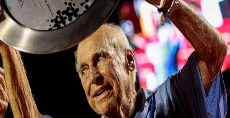 Antônio Carlos de Almeida Braga, o Braguinha, morreu aos 94 anos (Foto: Fotojump)