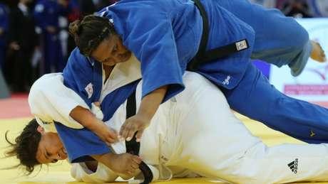 Beatriz Souza encerrou em sétimo lugar entre os pesados (Foto: Divulgação CBJ)
