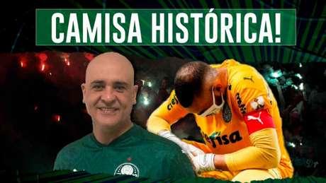 Weverton vem conquistando cada vez mais espaço na história do Palmeiras (Foto: Reprodução)