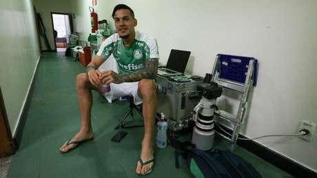 Gómez deve ser preservado até datas próximas à final da Libertadores (Foto: Cesar Greco/Palmeiras)