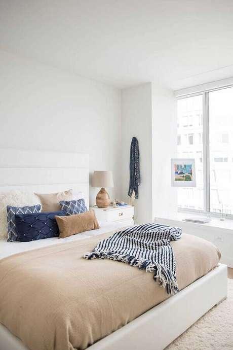 3. Cores claras nas paredes melhora a iluminação dos espaços – Foto: Apartment Therapy