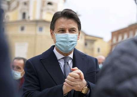O primeiro-ministro da Itália, Giuseppe Conte