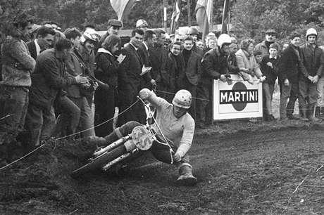 Joël Roberts nos tempos de motocross