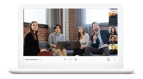 Google Meet (Imagem: Divulgação/Google)