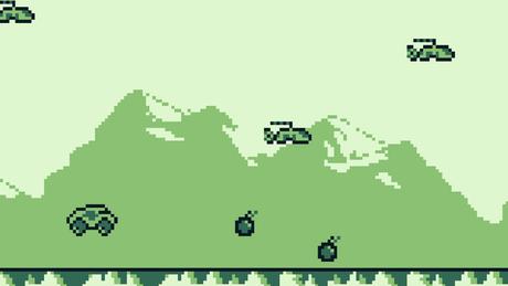 Versão para Game Boy do IndestructoTank!