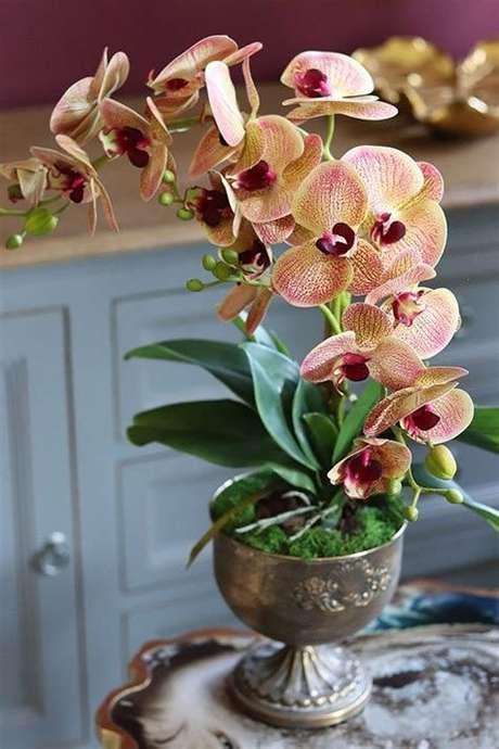 17. Capriche na escolha do vaso de orquídea – Via: Mung Fali