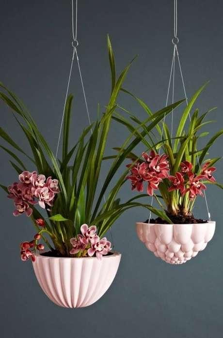9. Vaso suspenso para orquídeas – Via: We Are Scout