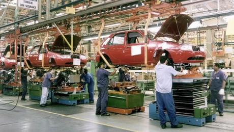 Fábrica em São Bernardo do Campo (SP), em 1996