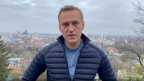 Alexei Navalny 13/01/2021 Cortesia do Instagram de @NAVALNY/Mídia Social via REUTERS