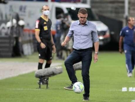 Mancini empolga torcida (Foto: Rodrigo Coca/Ag. Corinthians)
