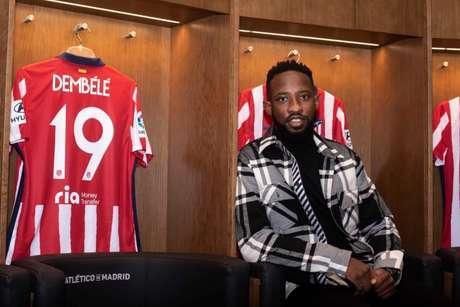 Atacante francês foi contratado pelo clube espanhol por empréstimo (Foto: Divulgação / Atlético de Madrid)