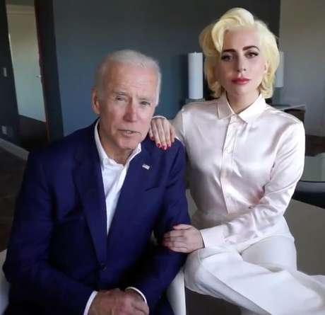 Lady Gaga cantará o hino americano na posse de Joe Biden