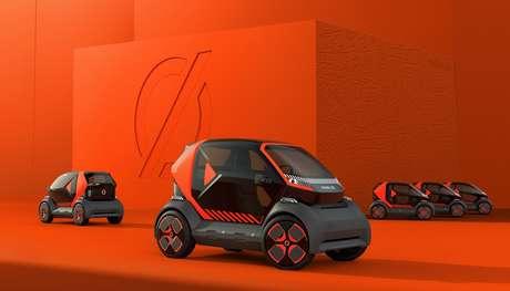 Um carro pequeno, com o Twizzy, faz parte da estratégia da Mobilize, nova marca da Renault.