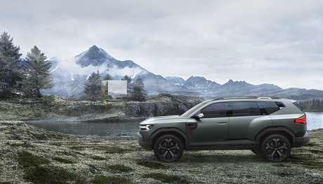 Futuro SUV médio da Renault vai competir com o Jeep Compass ou até num segmento superior.