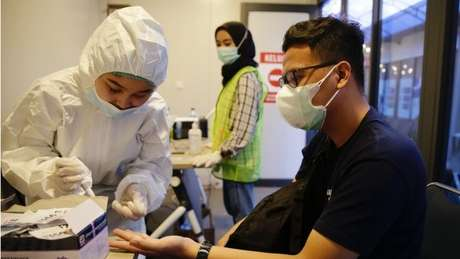 A Indonésia registrou mais de 600 mil casos de covid-19 desde o início da pandemia