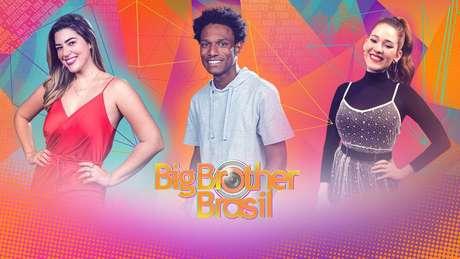 Ana Clara, Rhudson Victor e Vivian Amorim, repórteres do 'BBB 21'