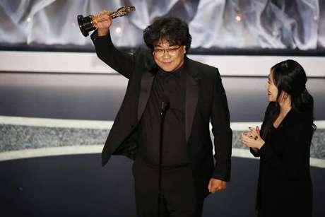 Bong Joon-ho foi o grande vencedor do Oscar em 2020