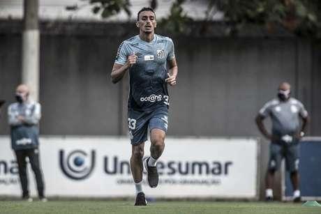 Volante Diego Pituca foi negociado, mas só deixa o Santos após a final da Libertadores (Foto: Ivan Storti/Santos FC)