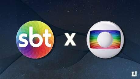 SBT e Globo disputam os direitos de transmissão do Campeonato Carioca (Foto: Arte Lance!)
