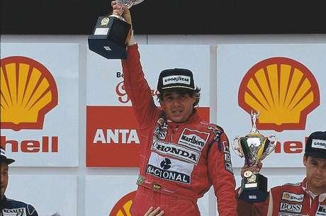 GP do Brasil, aquele da sexta marcha, uma das vitórias de Senna em 1991.