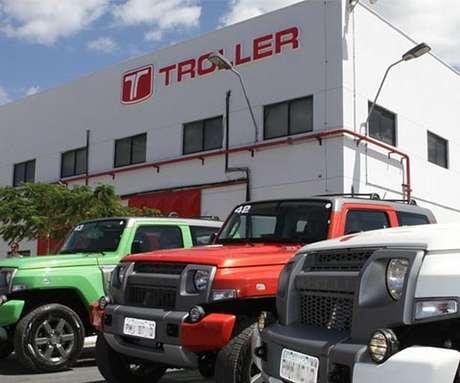 A fábrica da Troller em Horizonte (CE) emprega cerca de 470 funcionários e produz em torno de 150 carros por mês.