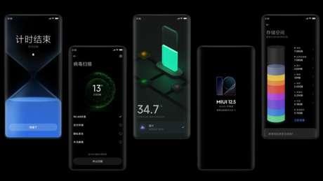 MIUI 12.5 (Imagem: Divulgação/Xiaomi)