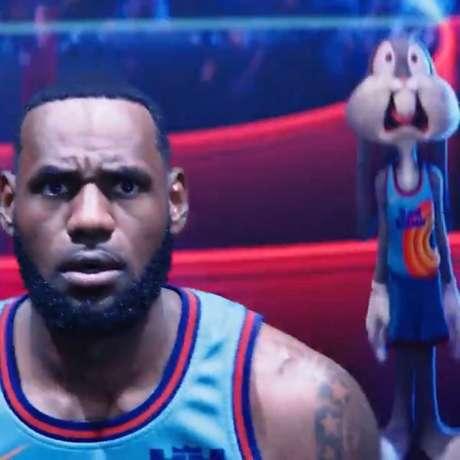 Frame da cena divulgada pelo jogador do Lakers (Foto: Reprodução/Instagram)