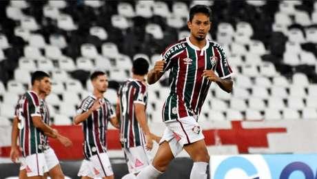 Lucca foi o autor do gol do Fluminense na partida pelo Brasileirão (Foto: MAILSON SANTANA/FLUMINENSE FC)