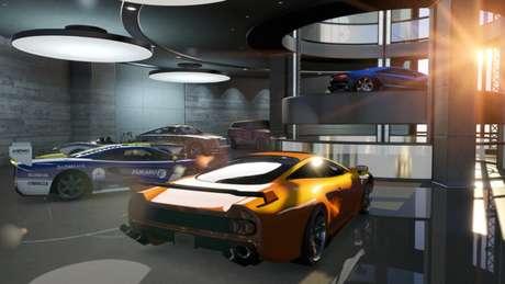 Garagem em GTA 5 (Imagem: Divulgação/Rockstar Games)