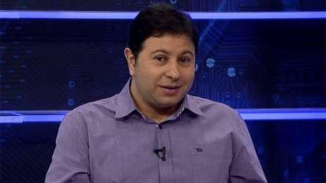 Mário Marra durante a programação dos canais ESPN Brasil (Reprodução/ESPN Brasil)