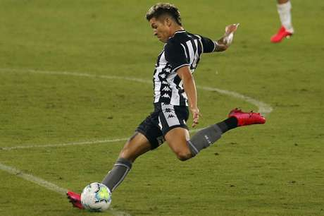 Nazário caiu de rendimento durante a competição nacional (Foto: Vítor Silva/Botafogo)