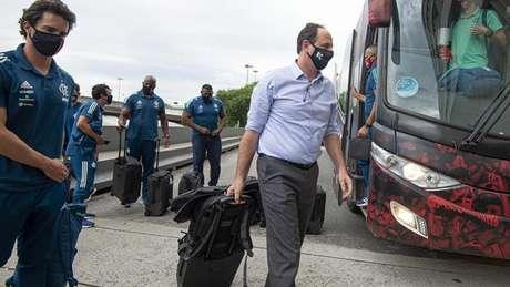 Com 44% de aproveitamento, Rogério Ceni está pressionado por resultados (Foto: Alexandre Vidal / Flamengo)