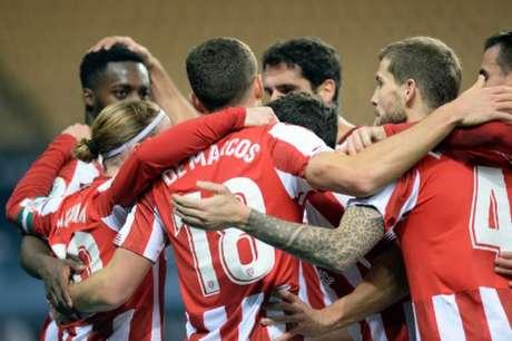 Athletic Bilbao virou a partida na prorrogação (Foto: AFP)