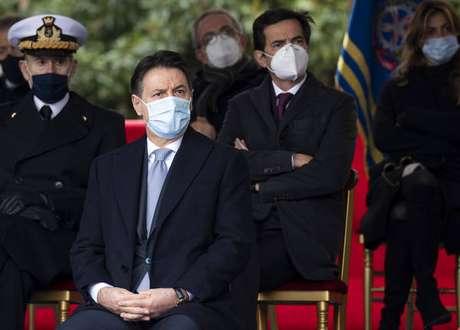 Giuseppe Conte tem se mantido em silêncio após a crise deflagrada por Matteo Renzi